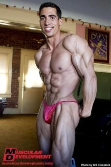 top natural bodybuilder Jeff rodriguez