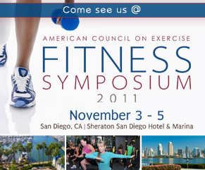 American Council of Exercise (ACE Fitness) conference 2011 held in San Deigo