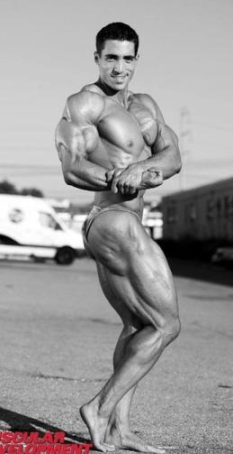 best natural bodybuilder Jeff rodriguez  pose