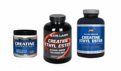 Creatine Ethyl Ester vs creatine Monohydrate